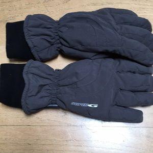 Super G Microfiber Men's Snow Gloves M New